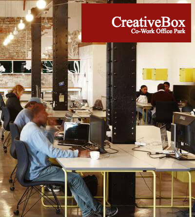 Working at CreativeBox Co-Work Office Park